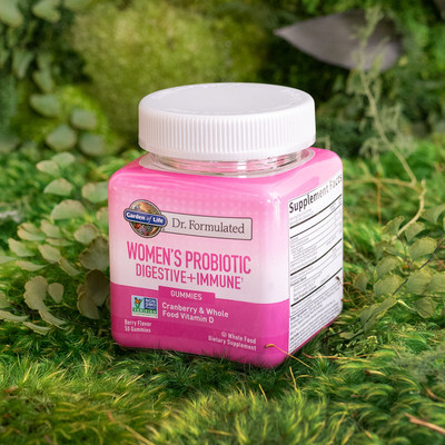 Garden of Life® Expands Dr. Formulated Supplements To Help Women Get Their Gut Back On Track and Live Their Best Life