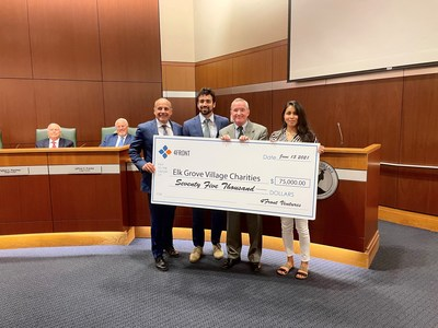 4Front Ventures Corp. Makes $75,000 Contribution to Elk Grove Village, Illinois to Support Local Community and Its Health and Wellness Initiatives