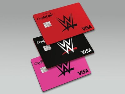 WWE® Superfans Get Their Very Own Credit Card: The New WWE® Champion Credit Card from Credit One Bank®