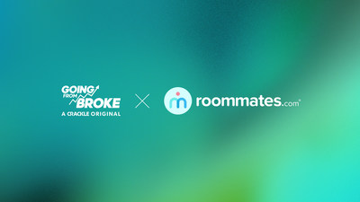 Roommates.com featured on season 2 of Crackle Original Series 'Going From Broke'