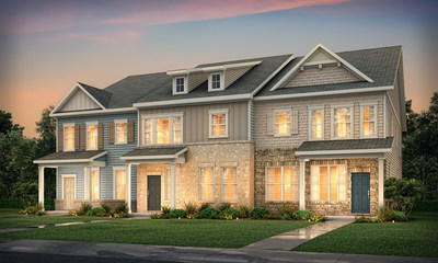 Now Selling: Inspired New Townhomes in Matthews, NC From Top National Builder