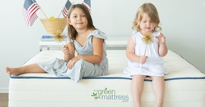My Green Mattress Celebrates July 4th with Up to $200 Off on Made-in-the-USA Certified Organic Mattresses