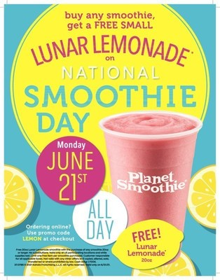 Planet Smoothie Invites You to Celebrate National Smoothie Day