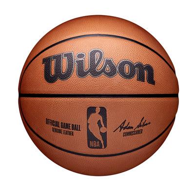 Wilson revela el balón oficial de la NBA antes de la temporada 2021-22 de la NBA