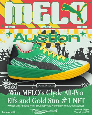 Rookie de la NBA del año: LaMelo Ball subastará el calzado autografiado de su triple doble vinculado al NFT N.° 1