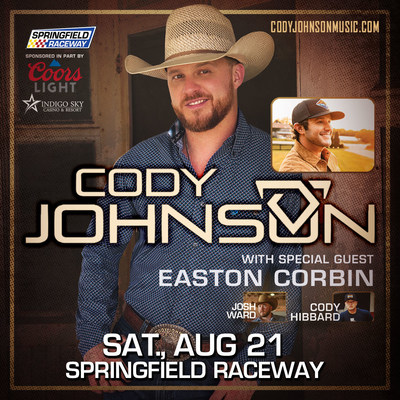 Cody Johnson & Friends Brings Outdoor Concert Event To Springfield Raceway