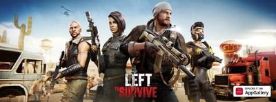 Left to Survive llega a AppGallery con una promoción masiva tras la asociación con Huawei