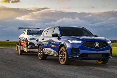 El MDX Type S 2022 llega a las portadas mientras el equipo de Acura Race parte a la Pikes Peak Hill Climb