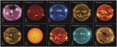 Postal Service Makes the Sun Shine Bright With Forever Stamps