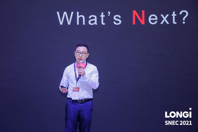 LONGi lanza módulos bifaciales Hi-MO N TOPCon tipo N en la SNEC 2021