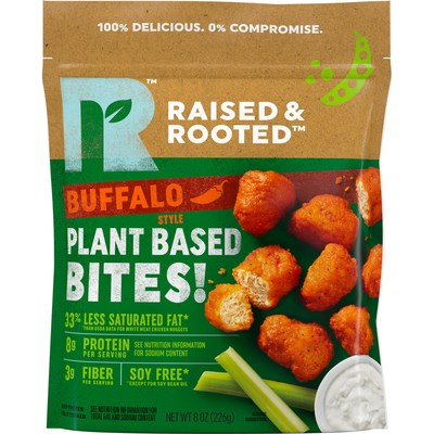 Give Your Tastebuds A Kick with the New Raised & Rooted� Plant Based Bites