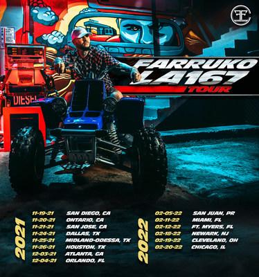 La superestrella Farruko anuncia su esperado tour