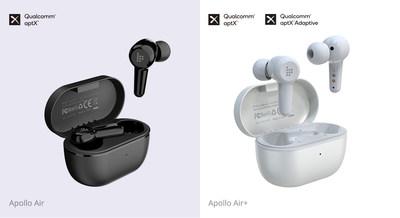 Tronsmart lanza los auriculares Apollo Air y Apollo Air+ TrueWireless™ Stereo Plus Hybrid ANC