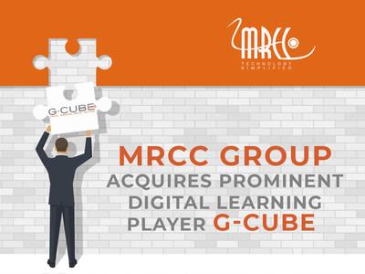 MRCC Group adquiere G-Cube, un destacado actor del aprendizaje digital