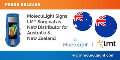 MolecuLight contrata a LMT Surgical como nuevo distribuidor para Australia y Nueva Zelanda