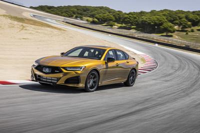 El Acura TLX Type S 2021 llega mañana a los concesionarios; un nuevo video destaca el desarrollo del Type S Turbo V6