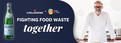 S.Pellegrino y Food For Soul juntos por un futuro más sostenible