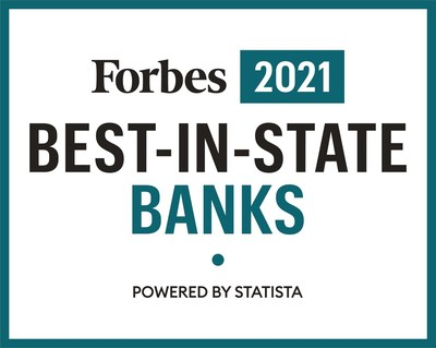 Simmons Bank Named to Forbes America's Best-In-State Banks 2021 List