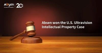 Absen gana el caso de propiedad intelectual estadounidense de Ultravision