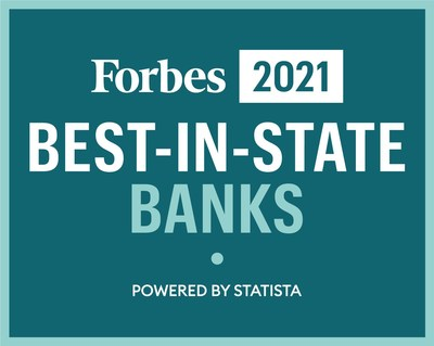Forbes Names Washington Trust on 'America's Best-In-State Banks' List