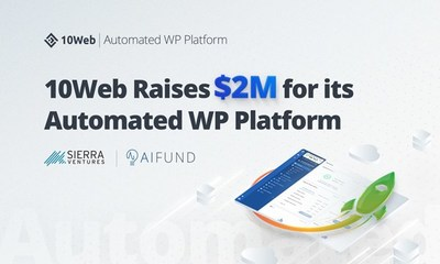 10Web Raises $2M to Automate WordPress Website Building and Hosting