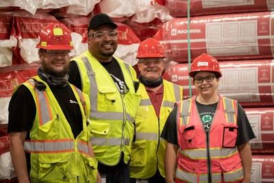 ROCKWOOL's second U.S. factory begins commercial production