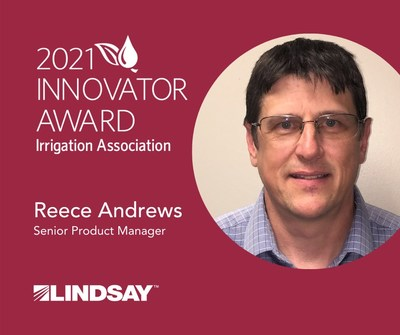 Lindsay Senior Product Manager Named Innovator of the Year by the Irrigation Association