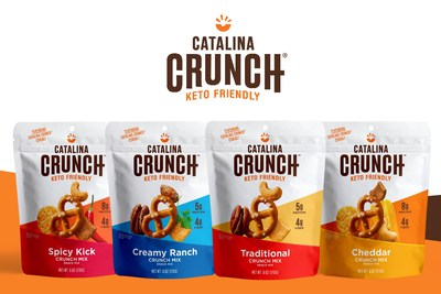 Catalina Crunch® Debuts Total Rebrand with the Launch of its New Line: Keto-Friendly Crunch Mix