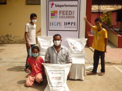 Teleperformance, HOPE worldwide and Feed the Children Respond to COVID-19 Crisis in India